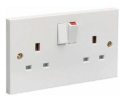 Electrical wall socket