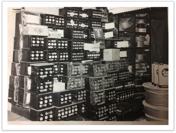 Battery Store Room