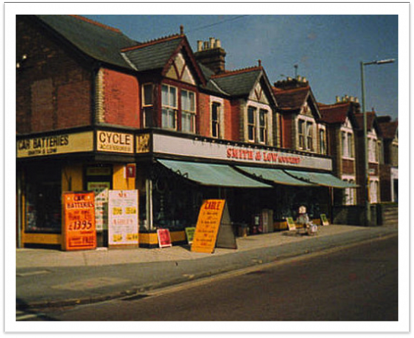 Shop as it was in the 1980's