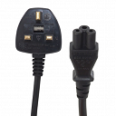 3 Pin cloverleaf power cable