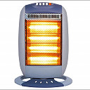 1600w 4 Bar Halogen Electric Heater