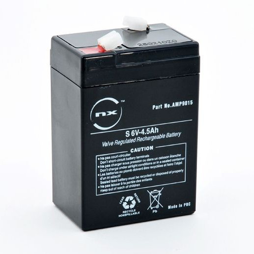nx 6V 4.5Ah Sealed Lead Acid Battery