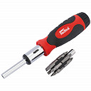 Draper Redline 67543 Ratcheting Screwdriver and Bit Set (14-Piece)