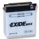 6N11A-1B Exide Motorcycle Battery