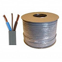 1.0mm Grey 3 Core & Earth Cable 6243Y 100mt Reel