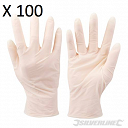 Disposable Latex Gloves 100pk