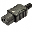 3 Pin IEC Mains Female Plug