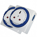 24 Hour Plug In Timer Switch 2 Pack
