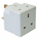 2 Way 13amp Fused Adaptor