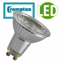 GU10 4.5w LED Glass - Crompton