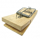 Little Nipper Wooden Mouse Trap