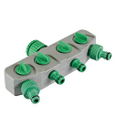 4-Way Tap Hose Connector