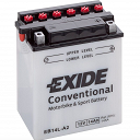 EB14L-A2 Exide Motorcycle Battery YB14L-A2