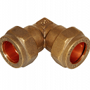 Compression Elbow Fitting 15mm x 15mm - Brass