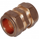 Straight Compression Coupling 22mm
