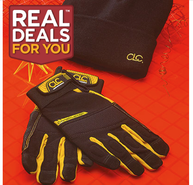 CLC FlexGrip™ Work Gloves and Beanie Hat