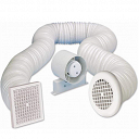 Airvent 4 Inch Inline Extractor Fan Kit with Timer