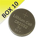 3 Volt Lithium Coin Cell Battery 10 Pack