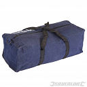 Silverline TB50 Canvas Tool Bag 460 x 180 x 130mm