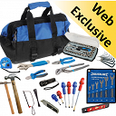 Hand Tool Kit - including Tool Bag